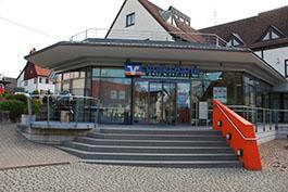 Volksbank Hohenzollern-Balingen eG, Volksbank Hohenzollern-Balingen eG, Geschäftsstelle  Bisingen, Klingenbachstraße 5, 72406, Bisingen