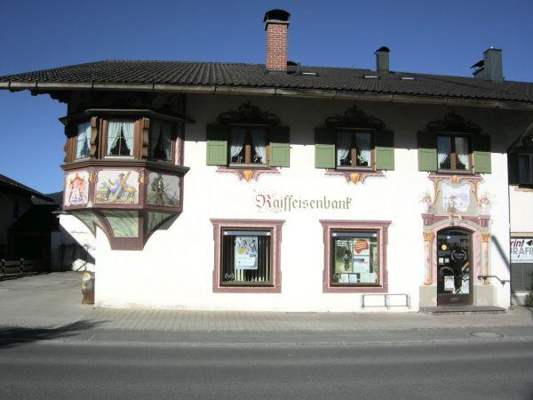 Raiffeisenbank Wallgau-Krün eG, Raiffeisenbank Wallgau-Krün eG Zweigstelle, Karwendelstraße 10a, 82494, Krün