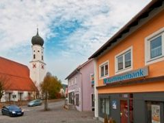 Raiffeisenbank Bad Kötzting eG, Raiffeisenbank Bad Kötzting eG Geschäftsstelle Miltach, Kirchplatz 4, 93468, Miltach